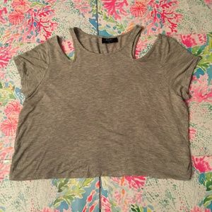 Nasty Gal Cropped Top Small